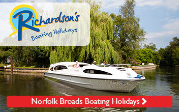 Richardson's Norfolk Broads Boating Holidays and Boat Hire in the Broads National Park