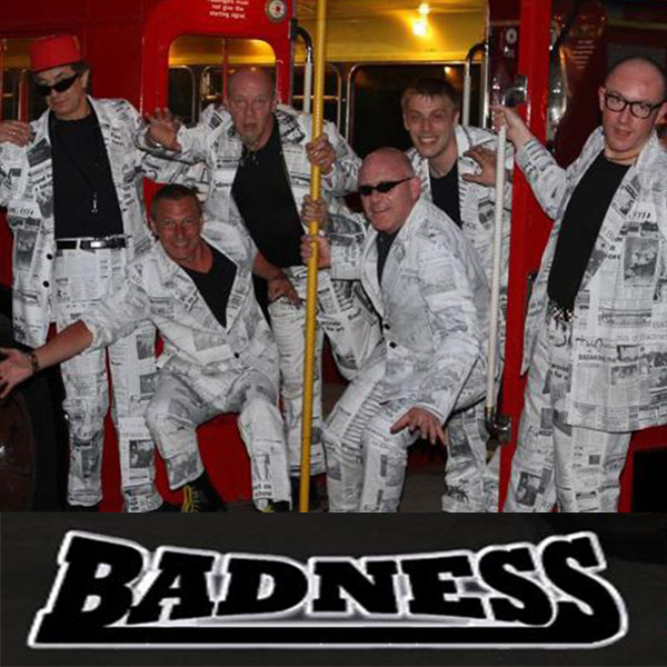 bandess madness tribute band