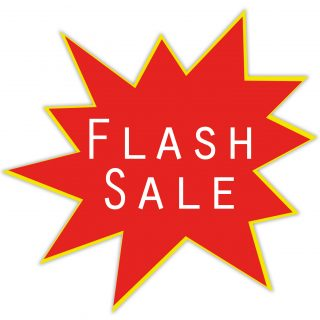 FLASH SALE! Save an Extra £25!