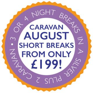 August short breaks in our NEW Caravans from just £199!