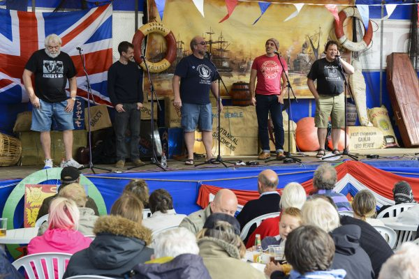 You can enjoy shanty music at the Great Yarmouth Maritime Festival!