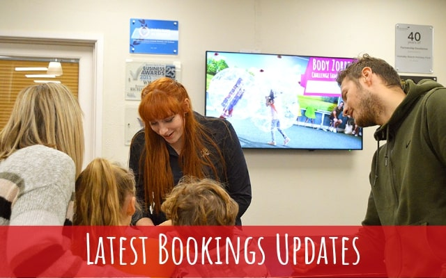 Booking Update