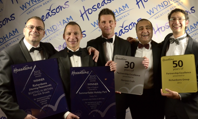 Richardson's Scoops 4 Awards