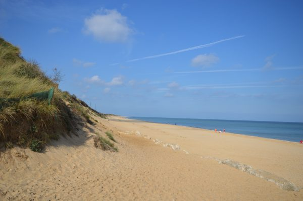 Hemsby beach is an obvious choice to visit when considering family friendly beaches in Norfolk.