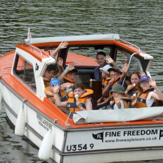 Visiting the Broads National Park with Children