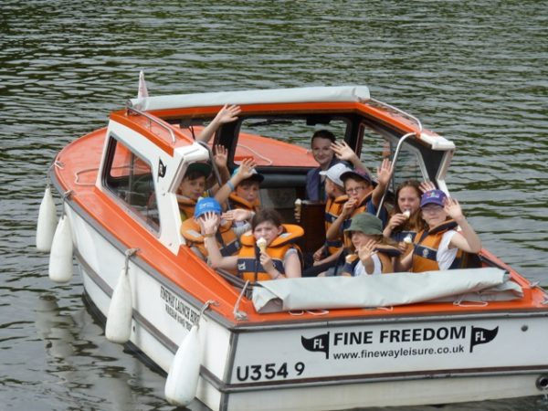 Our day launches at Richardson's Day Boats are a fantastic option when visiting the Broads National Park with children