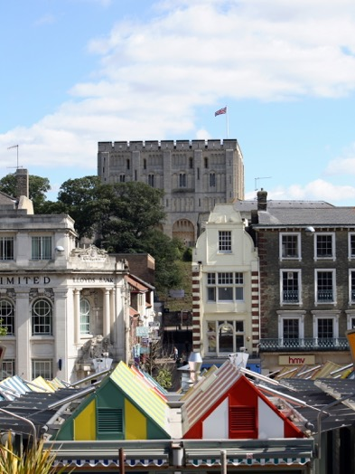 Why not visit the cultural city of Norwich when spending Father's Day in Norfolk?