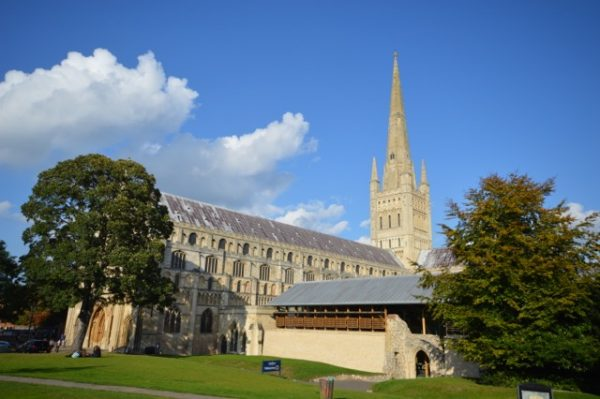Norwich Cathedral is one of the best places to see Norfolk heritage and history - why not take a trip? Admission is free!