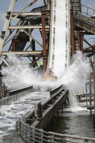 One of the best adventure and theme parks in Norfolk and Suffolk is Great Yarmouth's Pleasure Beach.