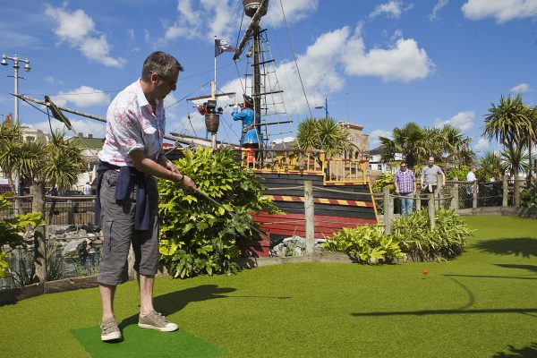 Looking for adventure golf in Norfolk? Consider Pirate's Cove in Great Yarmouth.