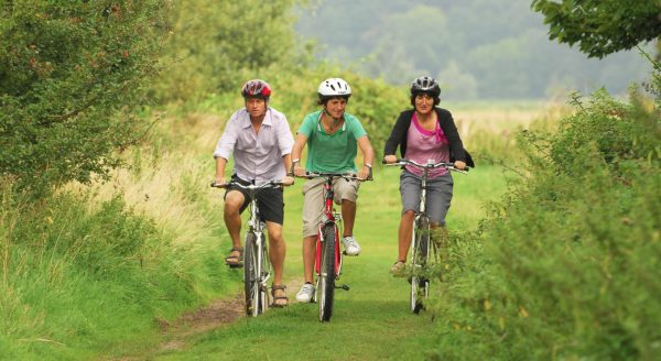 Why not go cycling with the kids in Norfolk? A great way to be active!