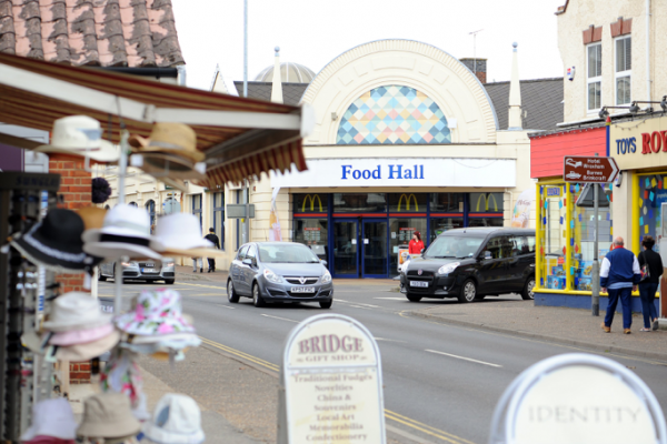 Shopping in Wroxham and Hoveton is almost entirely dominated by Roy's of Wroxham, with 6 different stores selling a variety of items, from DIY to children's toys!