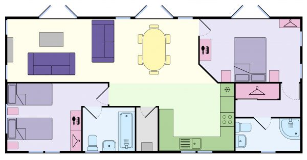 Gold Lodge Floor Plan