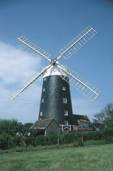 One of the things you can see when visiting the Burnhams - a beautiful windmill.