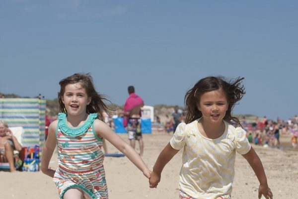 Beach games help to keep everyone fit, whilst having fun at the same time!