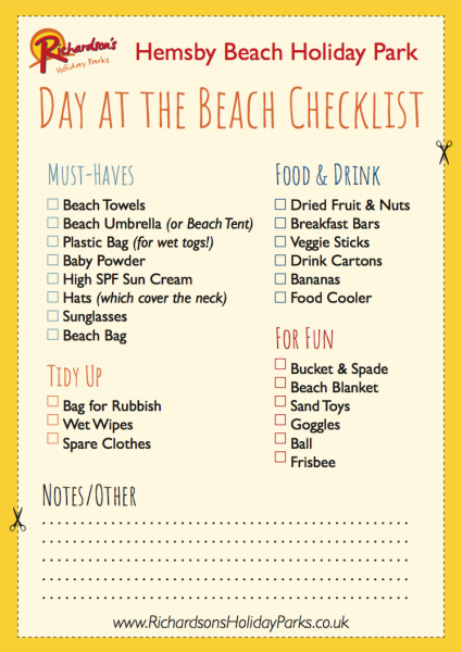 Seaside Activities, Tips and Ideas!