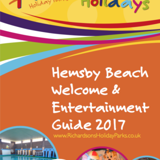 Hemsby Beach Holiday Park Welcome & Entertainment Guide 2017