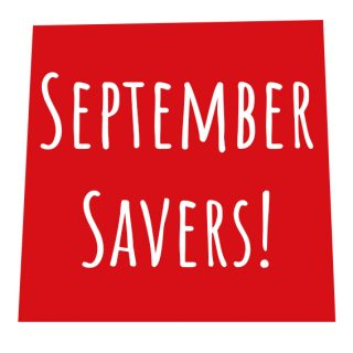 September Savers – book your September getaway now and save up to 40%!*