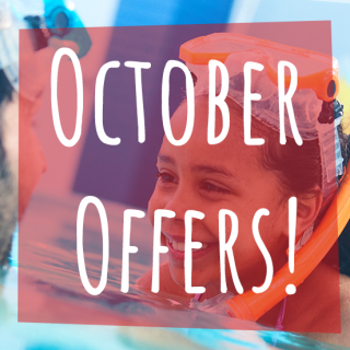 October Offers – save up to 40% on Autumn family fun!*