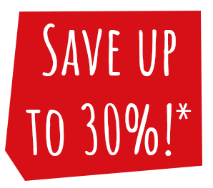 DON'T MISS! Book your 2019 holiday now and save up to 30% on Chalets and Silver Plus 2 caravans!