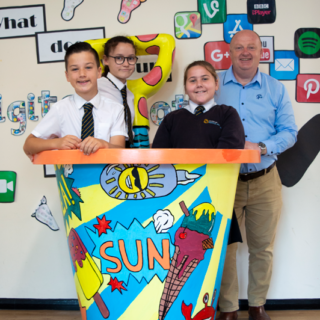 Richardson's celebrate Norfolk Day with the launch of giant bucket and spades